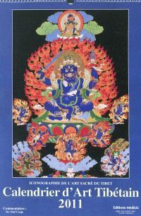 Calendrier d'art tibétain 2011 : iconographie de l'art sacré du Tibet