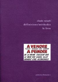 Définitions-méthodes, le livre : 1973-2000