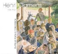 Henri Clamens, 1905-1937 : du prix de Rome à l'orientalisme