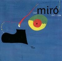 Joan Miro, 1917-1934 : la naissance du monde : exposition présentée au Centre Pompidou, Galerie 1, du 3 mars au 28 juin 2004