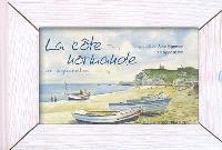 La côte normande en aquarelles