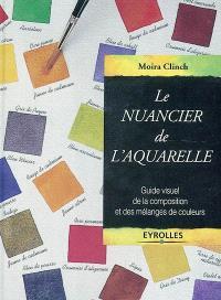 Le nuancier de l'aquarelle : guide visuel de la composition et des mélanges de couleurs