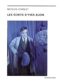 Les écrits d'Yves Klein
