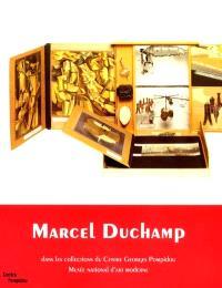 Marcel Duchamp dans les collections du Centre Georges Pompidou, Musée national d'art moderne