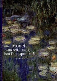 Monet, un oeil mais bon Dieu quel oeil !