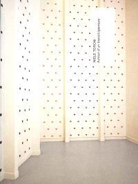 Niele Toroni, autour d'un travail, peinture : exposition, Musée d'art moderne de la ville de Paris, 6 avr.-16 sept. 2001
