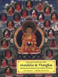 Peintures sacrées du Tibet : mandalas et thangkas : collection privée du monde entier et de sa sainteté le dalaï lama