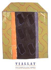 Viallat : hommage(s) à Matisse : exposition, Le Cateau-Cambrésis, Musée départemental Matisse, 12 mars-12 juin 2005