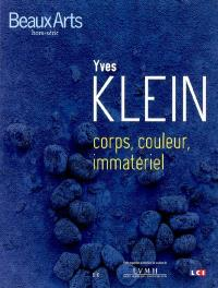 Yves Klein, corps, couleur, immatériel