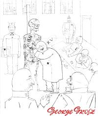 George Grosz, 1893-1959 : un grand non, Grosz visionnaire = George Grosz, 1893-1959 : een groot nee, de visionaire Grosz = George Grosz, 1893-1959 : ein grosses Nein, der visionäre Grosz