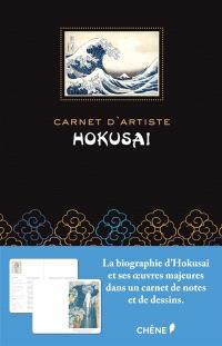Carnet d'artiste Hokusaï