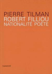 Robert Filliou : nationalité poète