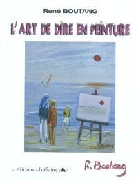 L'art de dire en peinture