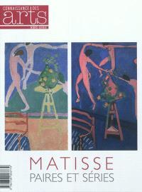 Matisse, paires et séries