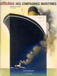 Affiches des compagnies maritimes
