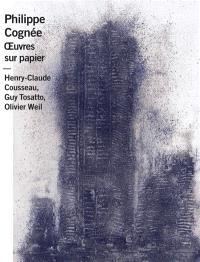Philippe Cognée : dessins et aquarelles