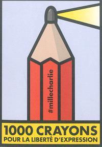 1.000 crayons pour la liberté d'expression
