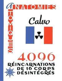 Anatomies atomiques : 4.096 réincarnations de 16 corps désintégrés