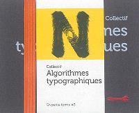 Algorithmes typographiques