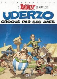 Le dessinateur d'Astérix le Gaulois Uderzo croqué par ses amis