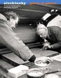 Peter et Pierre : 40 ans de lithographies avec Peter Bramsen