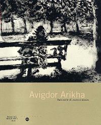 Avigdor Arikha : Paris sur le vif, encres et dessins, exposition, Palais des beaux-arts, Lille, 12 juin-12 sept. 1999