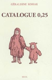 Catalogue 0.25