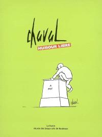 Chaval, humour libre