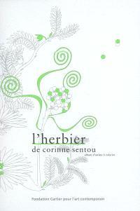 L'herbier de Corinne Sentou : album d'artiste à colorier