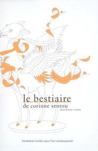 Le bestiaire de Corinne Sentou : album d'artiste à colorier