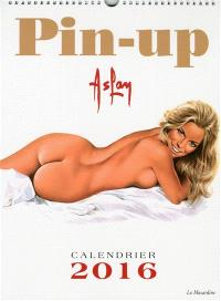 Pin-up : calendrier 2016