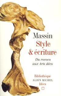Style et écriture : du rococo aux arts déco