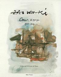 Zao Wou-Ki, carnets de voyages, 1948-1952