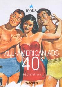 All American ads 40s