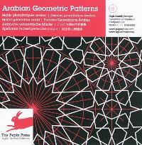 Arabian geometric patterns = Motifs géométriques arabes