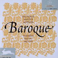Baroque : motifs = Baroque : patterns = Baroque : muster