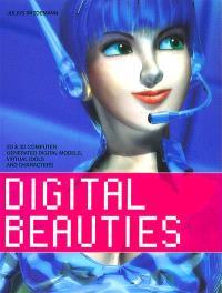 Digital beauties : 2D et 3D computer generated digital models, virtual idols and characters