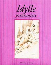 Idylle printanière = Spring romance = Pariser Frühlingsromanze