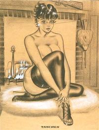 The wonderful world of Bill Ward : king of the glamour girls
