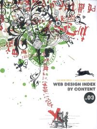 Web design index by content. Volume 3