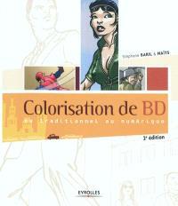 Colorisation de BD : du traditionnel au numérique