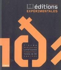 Editions expérimentales