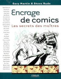 Encrage de comics : les secrets des maîtres