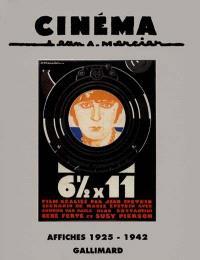 Cinéma, Jean A. Mercier : affiches 1925-1942