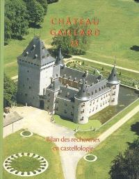 Château-Gaillard : études de castellologie médiévale. Volume 23, Bilan des recherches en castellologie : actes du colloque international de Houffalize (Belgique), 4-10 septembre 2006