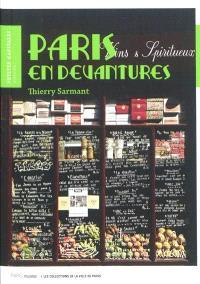 Paris en devantures : collection du musée Carnavalet