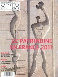 Le patrimoine en France 2011