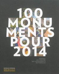 100 monuments pour 2014 : agenda du Centre des monuments nationaux