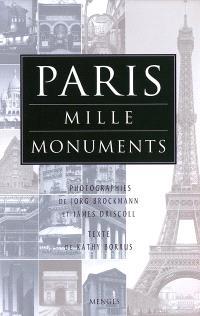 Paris, mille monuments