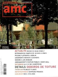 AMC, le moniteur architecture. n° 163